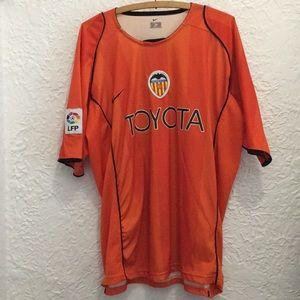 Valencia C.F. Jersey    Spanish La Liga